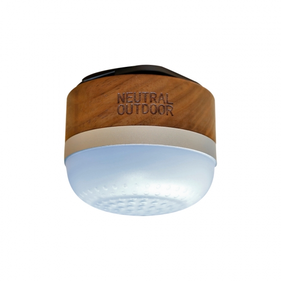 NEUTRAL OUTDOOR ウッドスピーカーランタン Bluetoothスピーカー搭載 高輝度LED