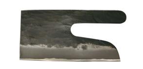 ZALURI★土佐打刃物◆蕎麦切り包丁(125×230mm)青1号鋼・両刃★(そば切り包丁)幅125mmの刃渡り230mm)ご予約品です