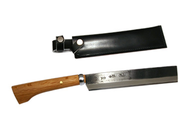 """★ Tosa-forged cutlery """"bamboo % hatchet (takewarinata) • blue, blade length 120 mm, plastic sacks with ★ (577-001) [real]"""" life stuff """"will deliver"""