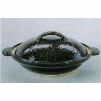 (雑貨)長谷製陶 伊賀土鍋 アメ釉(京型)◎送料無料
