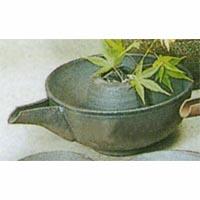 (雑貨)長谷製陶 片口冷酒器 炭焼小(氷入れ付)◎送料無料