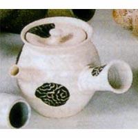 (雑貨)長谷製陶 丸紋唐草 急須◎送料無料