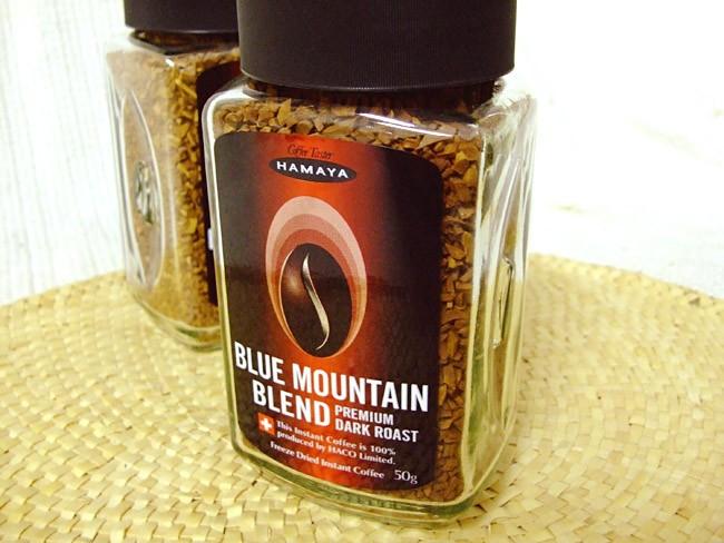 @ ハマヤ 블루 마운틴 ◆ 프리미엄 다크 로스트 ◆ 인스턴트 커피의 최고봉! ◆50g★