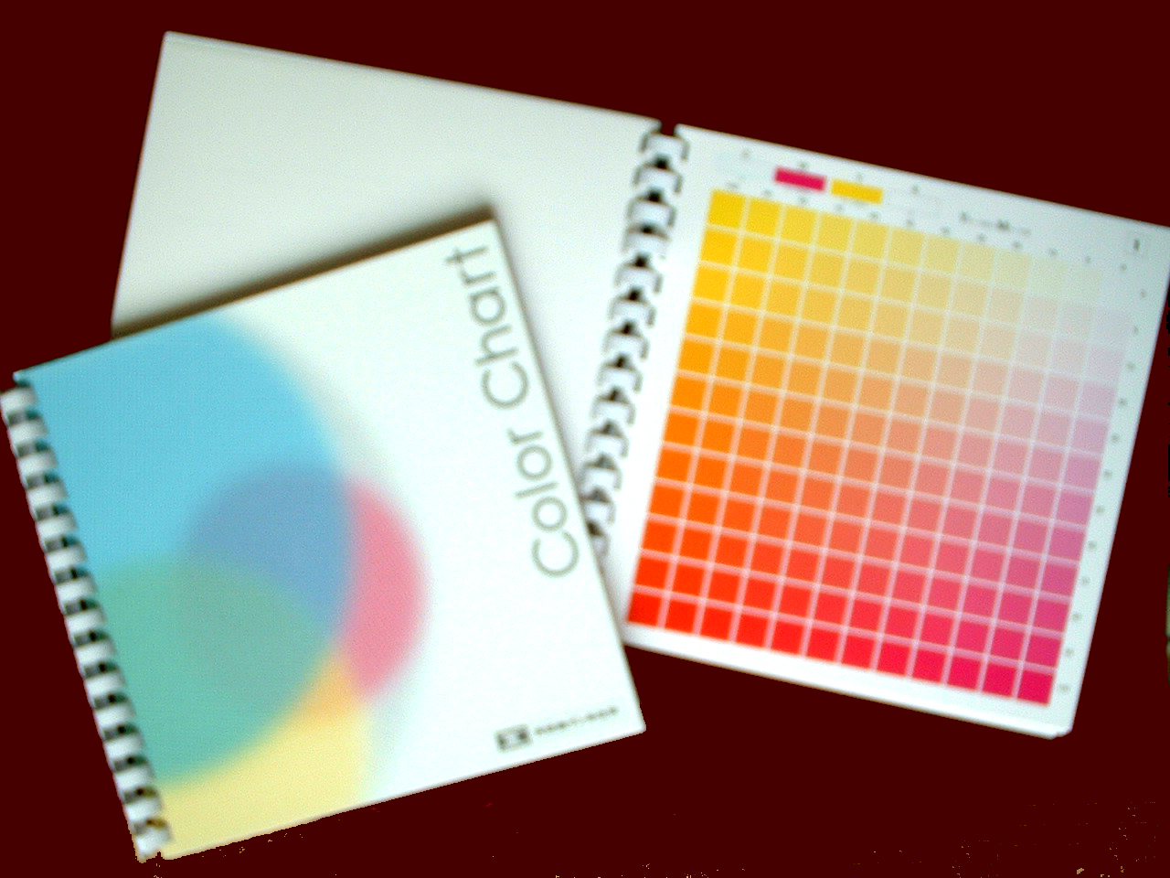 Chotto Print Print Color Swatch Dic Process Color Chart Shipped 1