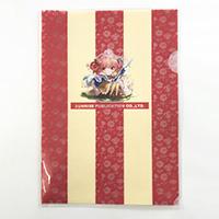 【ノベルティ】【オリジナル印刷】A4オンデマンドクリアファイル 40枚(オフィス用品 事務用品 文具品 誕生日 プレゼント 記念品 販促品 名入れ)
