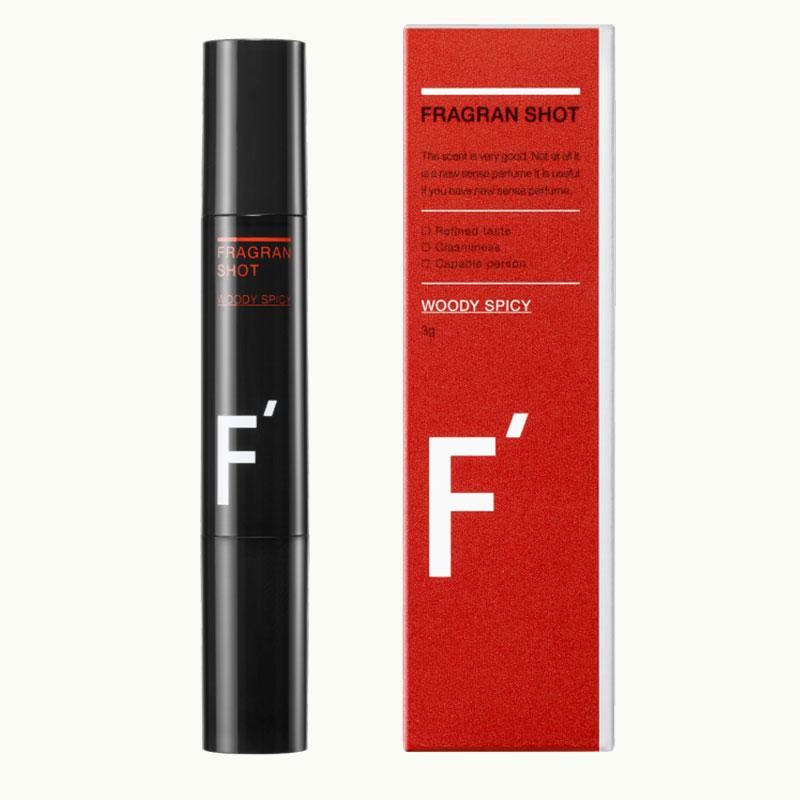送料無料カード決済可能 スティックの男らしい香りの練り香水 最大3900円OFF フレグランショット 販売 ウッディスパイシー