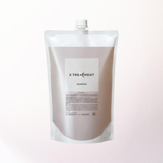 エイジングケア成分で頭皮の潤いを保ち 公式 お買い得品 やさしく汚れを洗い流す 最大3900円OFF エックストリートメント TREATMENT X シャンプー 1000ml