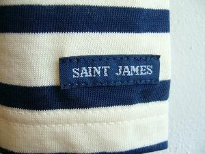 SAINT JAMES 세인트 제임스 TOLEDE SLEEVELESS 민소매 원피스 ECRU/MARINE