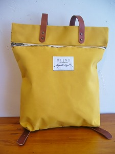 【SALE】Olend Mapa BACKPACK *MUSTARD*