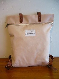 【SALE】Olend Mapa BACKPACK *Pale Rose*