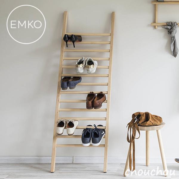 EMKO Step Up シューズディスプレイ シューズラック 玄関収納 【エムコ デザイン雑貨 シューズスタンド ヒール 革靴 スニーカー ハシゴ 梯子 ステップアップ】※メーカー取り寄せ:ご注文後に納期をご連絡します。