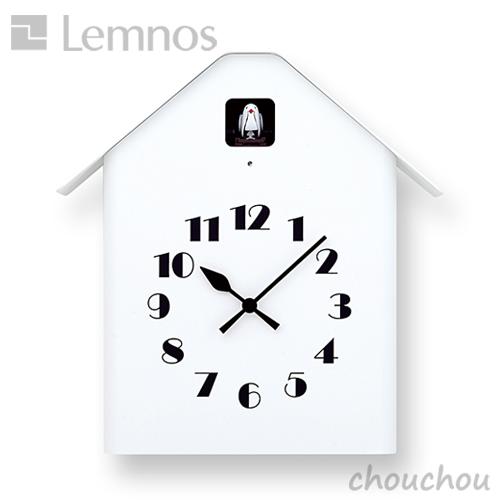 《全2色》lemnos Dachs Cuckoo カッコー時計 ダックス カッコー 【タカタレムノス デザイン雑貨 ウォールクロック 壁掛時計 クロック シンプル インテリア 壁時計 リビング 鳩時計 ハト時計 北欧】
