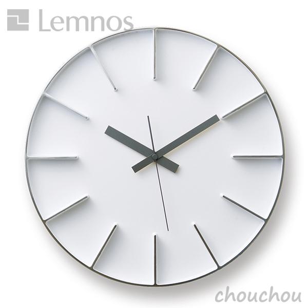 《全3色》lemnos エッジクロック(Lサイズ) -AZ-0015- 掛け時計 Edge Clock 【タカタレムノス デザイン雑貨 掛け時計 クロック シンプル インテリア 壁時計 ウォールクロック 北欧】