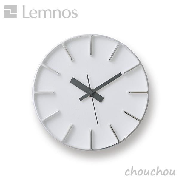 《全3色》lemnos エッジクロック(Sサイズ) -AZ-0016- 掛け時計 Edge Clock 【タカタレムノス デザイン雑貨 掛け時計 クロック シンプル インテリア 壁時計 ウォールクロック 置き時計 置き掛け兼用 北欧】