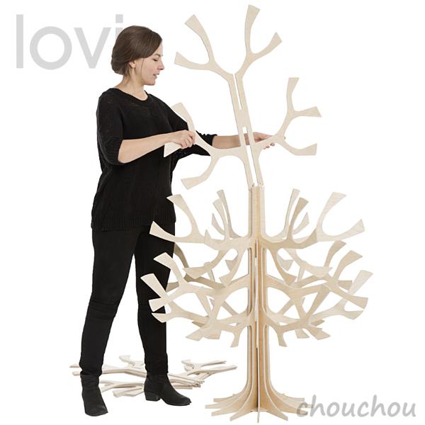 lovi クリスマスツリー 180cm Xmas Tree 【ロヴィ オブジェ フィンランド 白樺 バーチ材 リビング デザイン雑貨 インテリア クリスマスツリー SPRUCE TREE】