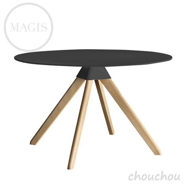 MAGIS Cuckoo クックー(黒×ナチュラル) テーブル 【マジス デザイン雑貨 店舗 ギフト お祝い 贈り物 デザイン雑貨 モダン インテアリア】※ 受注後に納期をご連絡いたします。