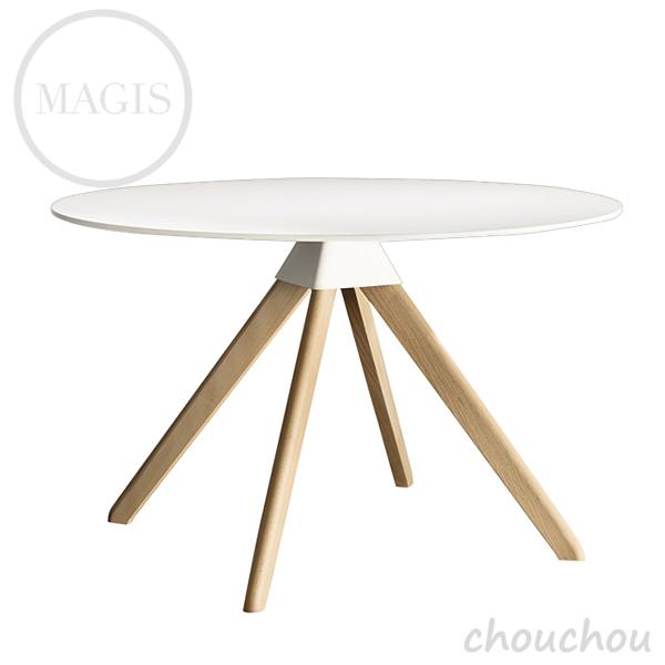 MAGIS Cuckoo クックー(白×ナチュラル) テーブル 【マジス デザイン雑貨 店舗 ギフト お祝い 贈り物 デザイン雑貨 モダン インテアリア】※ 受注後に納期をご連絡いたします。