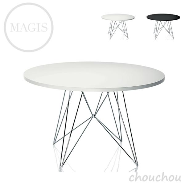 《全2色》MAGIS Tavolo XZ3(丸型天板) タヴォロXZ3 テーブル 【マジス デザイン雑貨 店舗 ギフト お祝い 贈り物 デザイン雑貨 モダン インテアリア】※ 受注後に納期をご連絡いたします。