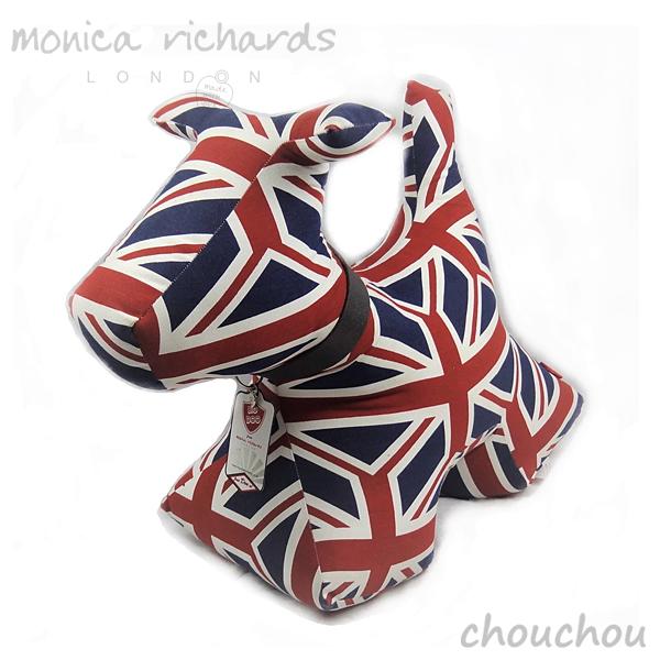 monica richards LONDON ドアストップ ドッグ Big Doo Door Stop 10kg クラシック ユニオンジャック 【モニカリチャード ロンドン インテリア雑貨 イギリス 英国 アニマル ドアストッパー お引越し祝い ギフト プレゼント 贈り物】
