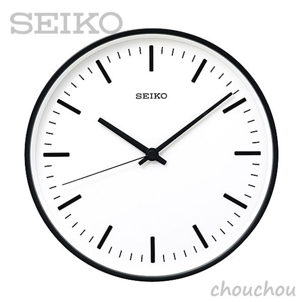 《全3色》SEIKO clock STANDARD L 31cm 【セイコー 壁掛け時計 掛け時計 深澤直人 デザイン雑貨 インテリア 電波時計 ウォールクロック シンプル】