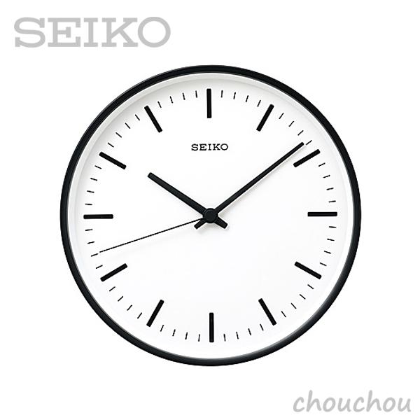 《全3色》SEIKO clock STANDARD M 26.5cm 【セイコー 壁掛け時計 掛け時計 深澤直人 デザイン雑貨 インテリア 電波時計 ウォールクロック シンプル】