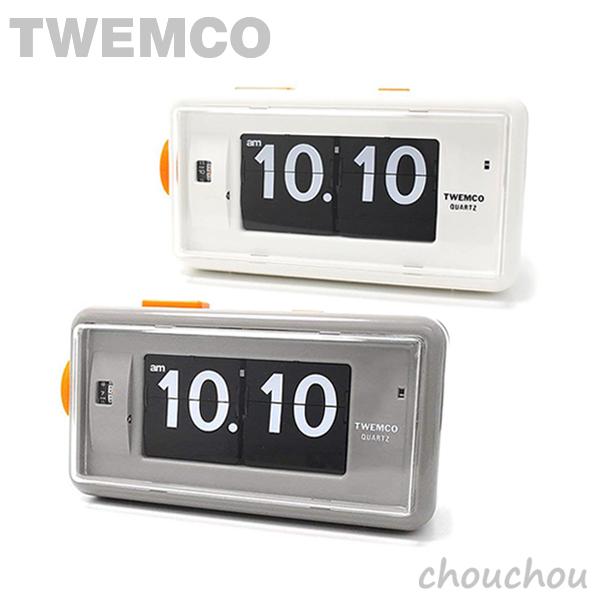 《全2色》TWEMCO AL-30 Desk Alarm パタパタ時計 【トゥエムコ トゥエンコ デザイン雑貨 デスク アラームクロック アラーム時計 置き時計 目覚まし時計 置時計 インテリア】