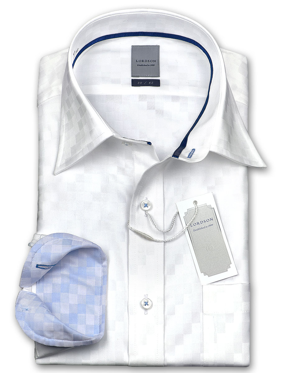 ★New product ★ cotton 100% form processing standard body block dobby check wide colored shirt dress shirt / business shirt / shirt /Y shirt / department store / men / Choya Shirts /(zod703-200) becoming stable