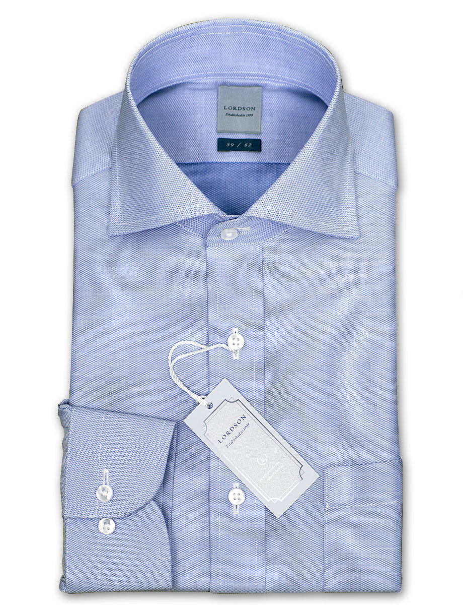 ★ new ★ LORDSON cotton 100% form stable machining standard of end-on-end wide color shirt (cutaway) (zod903-250) 02P01Oct16
