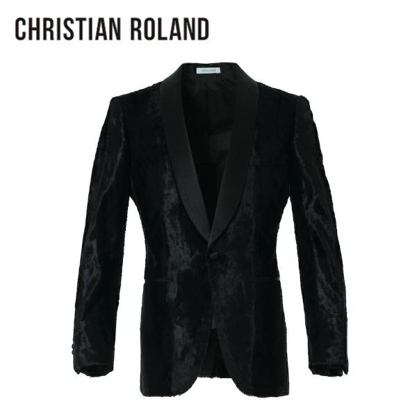 【公式】クリスチャンローランド CHRISTIAN ROLANDTUXEDO JACKET (FUR VELVET) ベルベット ジャケット