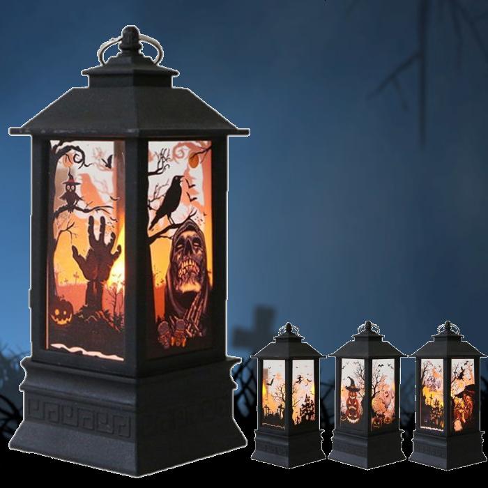 ランタン型ライト ハロウィン イルミネーション 爆安プライス ライト ハロウィンライト パーティー 仮装 装飾 ランタン 値引き 飾り ハロウィングッズ ランプ あす楽 Halloween 電池 電池式 飾り付け 置物