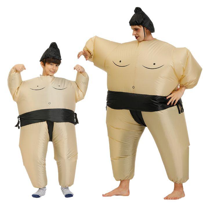 ふくらむ力士 コスプレ 衣装 ハロウィン 仮装 インフレータブルコスチューム inflatable おもしろ 面白い 着ぐるみ クリアランスsale!期間限定! きぐるみ 余興 あす楽 大人用 おもしろコスチューム エアブロー 春の新作続々 コスプレ衣装 空気で膨らむ おもしろい