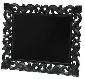 中世をイメージした華やかなボード 期間限定 限定タイムセール デコラティブ ブラックマグネットボード