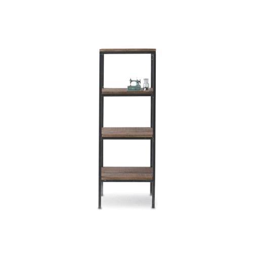 アイアンディスプレイシェルフ 重厚感のある雰囲気が大人のインテリアにぴったり 什器やディスプレイのシェルフとしても 本棚 飾り棚