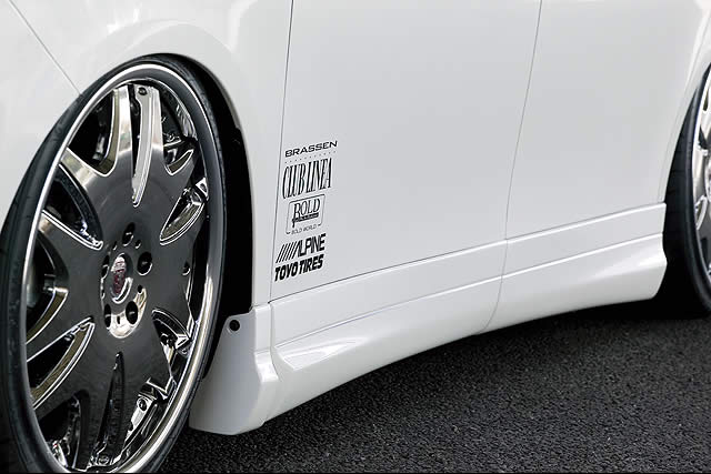 ヴォクシー ZRR70/75G 標準 前期 サイドパネル 塗装済 クレイブ