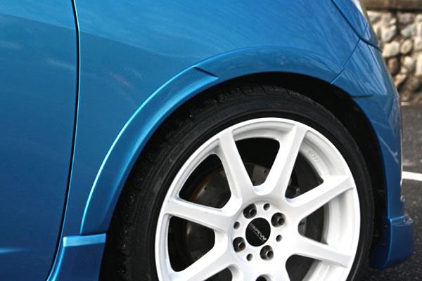 フィット GE6~9 前期 フロントフェンダートリム 塗装済 ヴァリアント ガレージベリー
