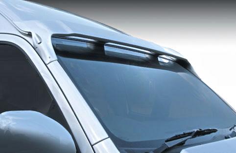 ハイエース 200系 ワイド トップスポイラー(ハイルーフ車専用) 塗装済 ヴァリアント ガレージベリー