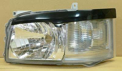 ハイエース KDH・TRH200 標準 アイラインガーニッシュ 塗装済 ラグゼス AMS