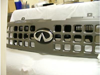 Z11 キューブ 前期 エンブレムマウントキットセット 塗装済 AMS
