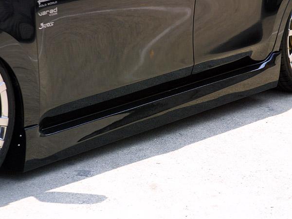bB QNC20系 前期 S・Zグレード サイドスカート 塗装済 ハーテリー LS-LINE
