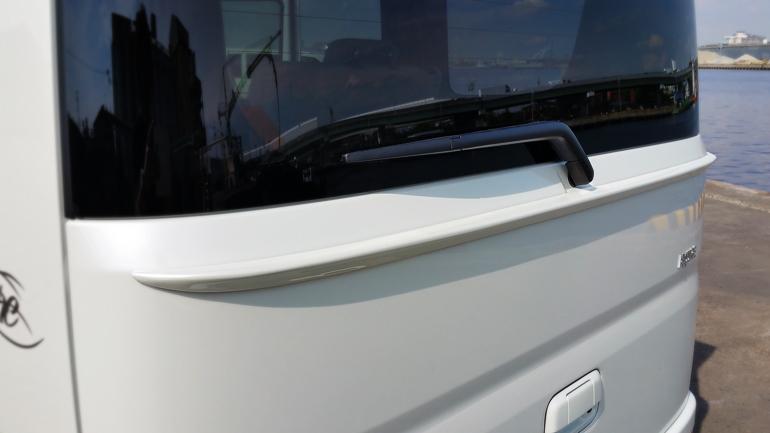 エブリィワゴン DA17W リアゲートウイング 塗装済 アリュール/ALLURE