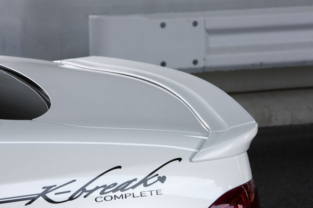 クラウン GRS200系 リアウィング(3P) 塗装済 JDMCOMPLETE K-BREAK/ケイブレイク