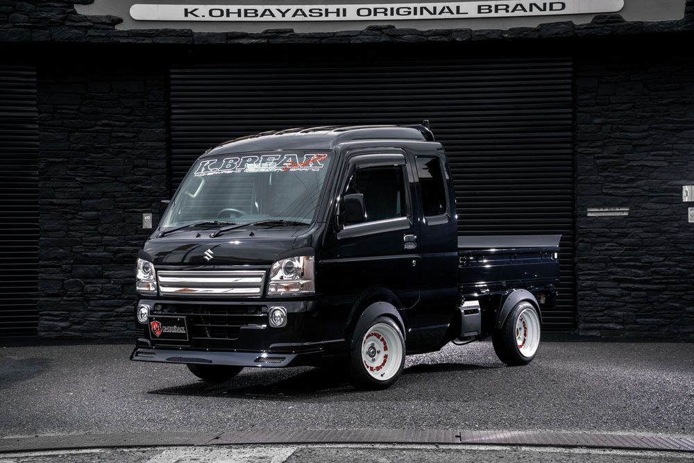スーパーキャリイトラック 16T フロントリップスポイラー 塗装済 Baby Gang K-BREAK/ケイブレイク