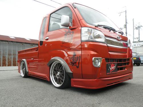 ハイゼットトラック 標準 S500P フロントバンパーダクト有り(ハーフタイプ)塗装済 Novel 翔プロデュース
