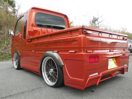 ハイゼットトラック 標準 S500P リアバンパー 塗装済 Novel 翔プロデュース