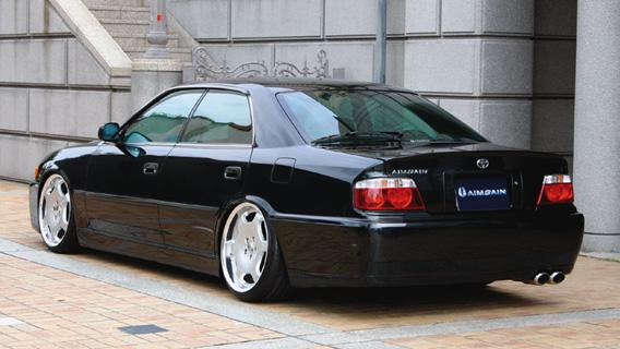 チェイサー 100系 リアウイング 塗装済 ユーロエディション エイムゲイン