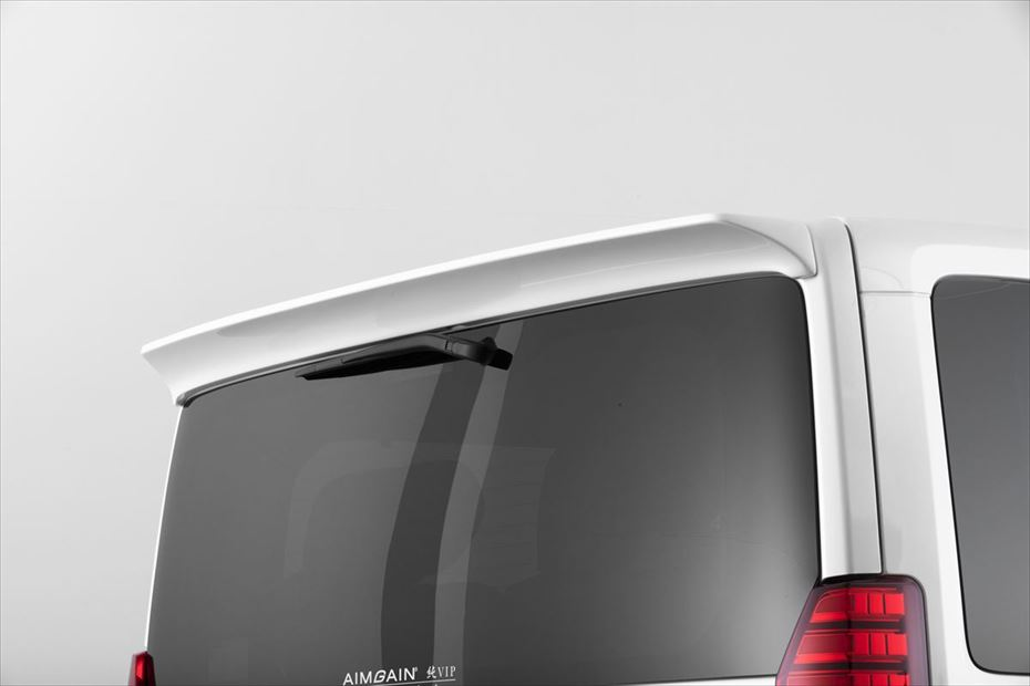 グランエース GDH303W リアルーフスポイラー 塗装済 純VIPEXE AIMGAIN/エイムゲイン