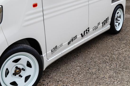 N-VAN JJ1 サイドステップ 塗装済 CLS-VS ESB