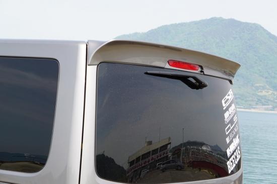 NV350キャラバン E26 ナロー用 リアウイング(標準ルーフ)塗装済 CLS VS ESB