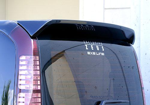ステップワゴン スパーダ RF5~8 後期 リアウイング 塗装済 ゼウス エグゼライン