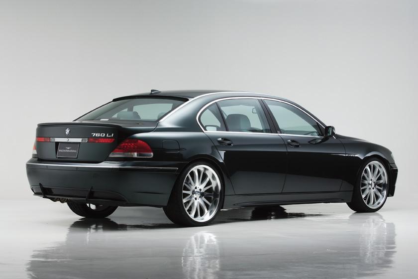 BMW E65/66 7シリーズ M/C 前期 ~'05y リアスカート 塗装済 ヴァルド SPORTS LINE